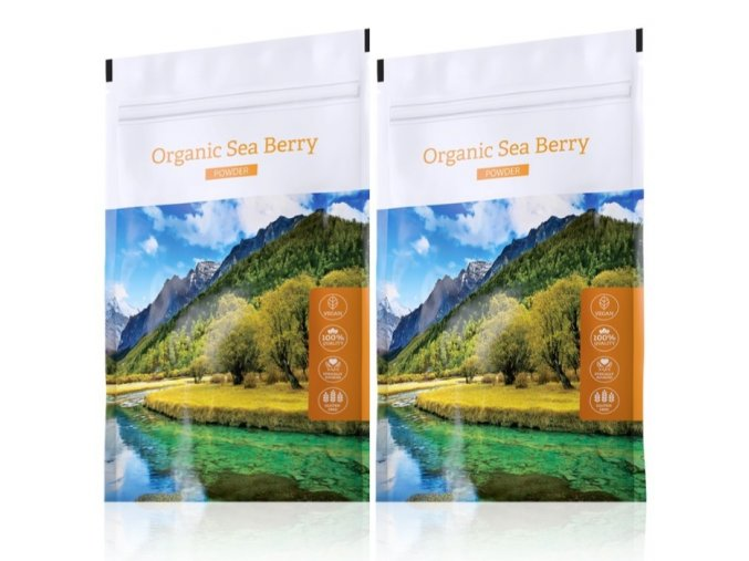 Organic Sea Berry powder akční sety
