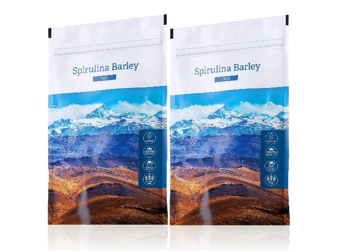 Spirulina Barley tabs výhodné sety