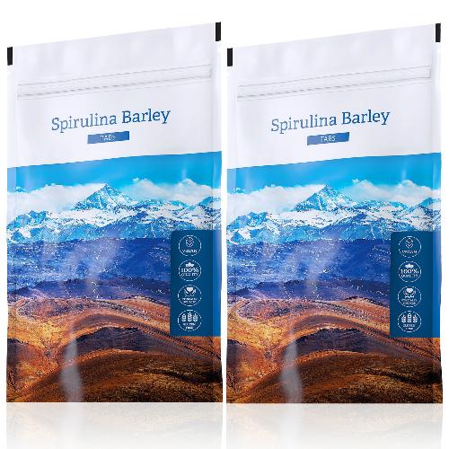 Spirulina Barley tabs akční sety
