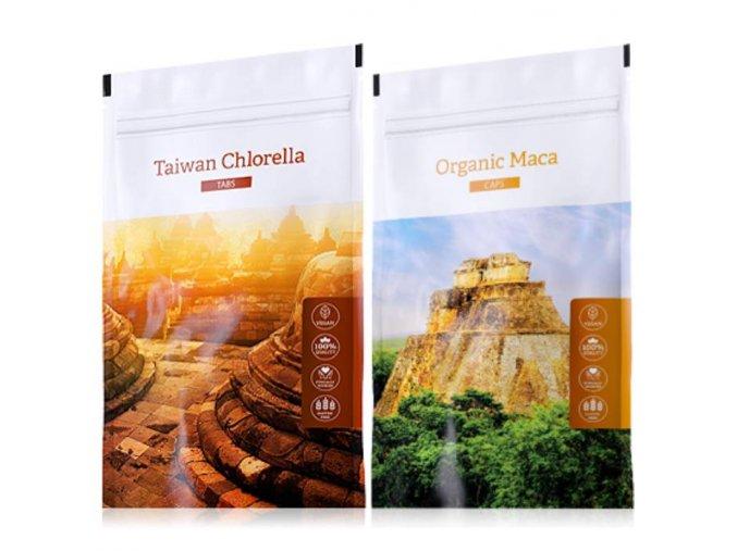 organic chlorella tabs maca