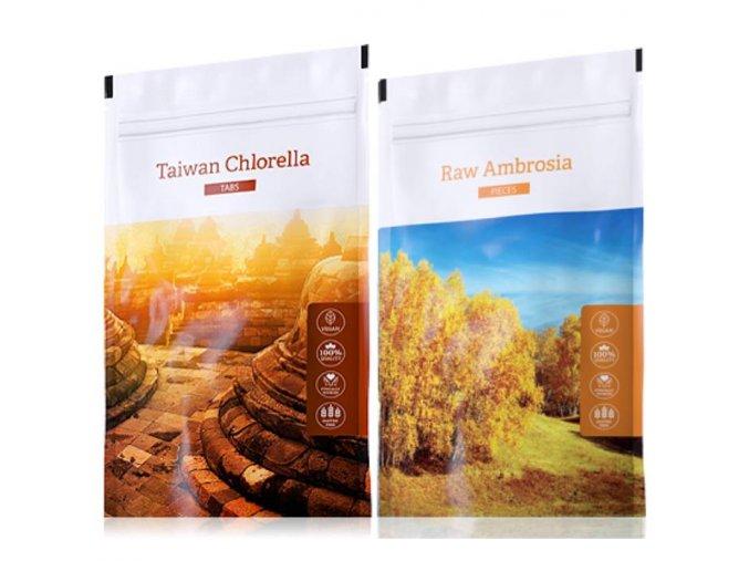 organic chlorella tabs raw ambrosia