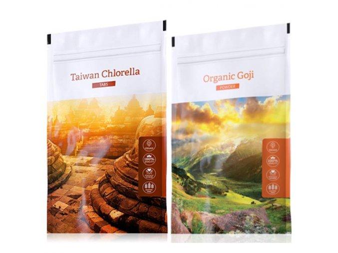 organic chlorella tabs goji