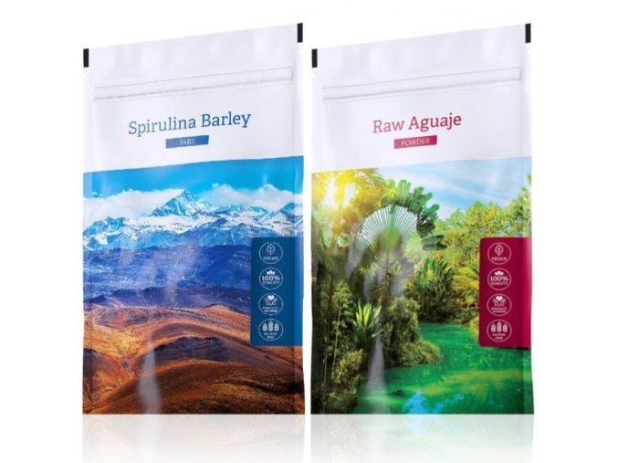spirulina barley tabs raw aguaje