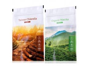 Organic chlorella tabs matcha