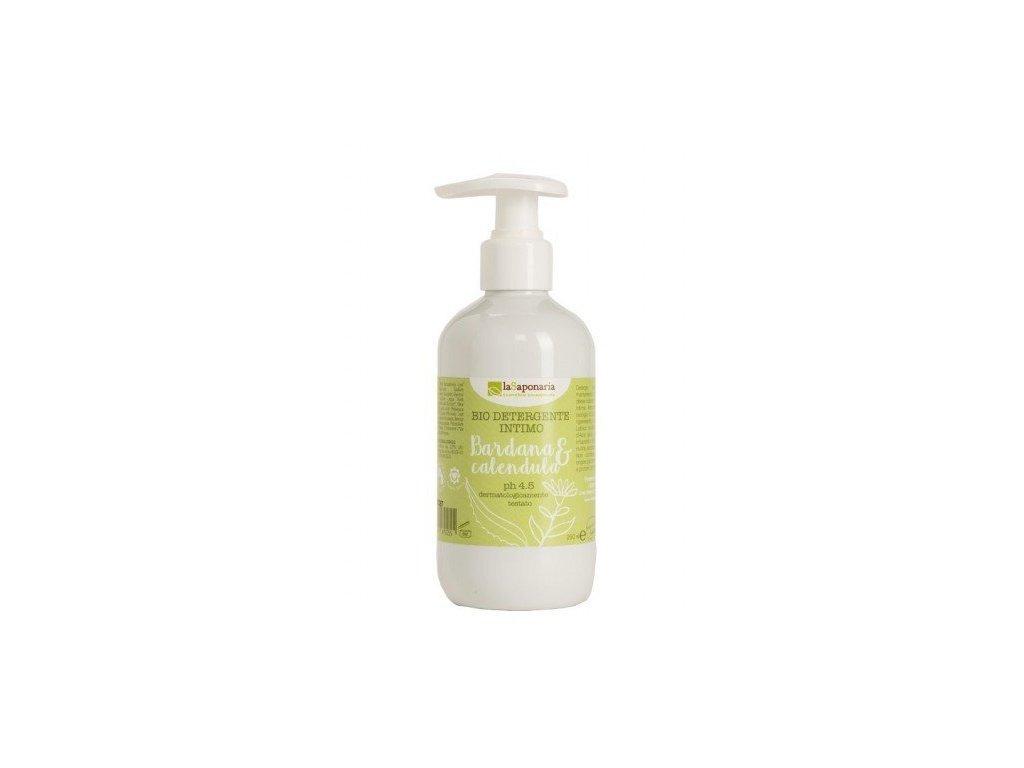 laSaponaria Intimní gel BIO (200 ml) - udržuje přirozené ph 4.5
