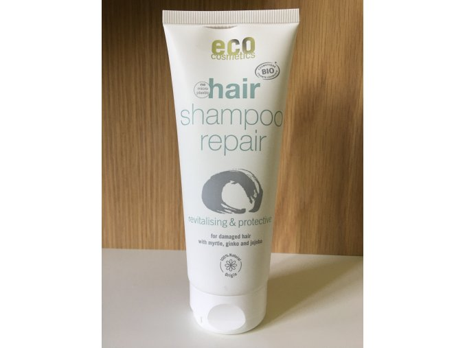 15195 eco cosmetics regeneracni sampon bio 200 ml idealni pro poskozene vlasy