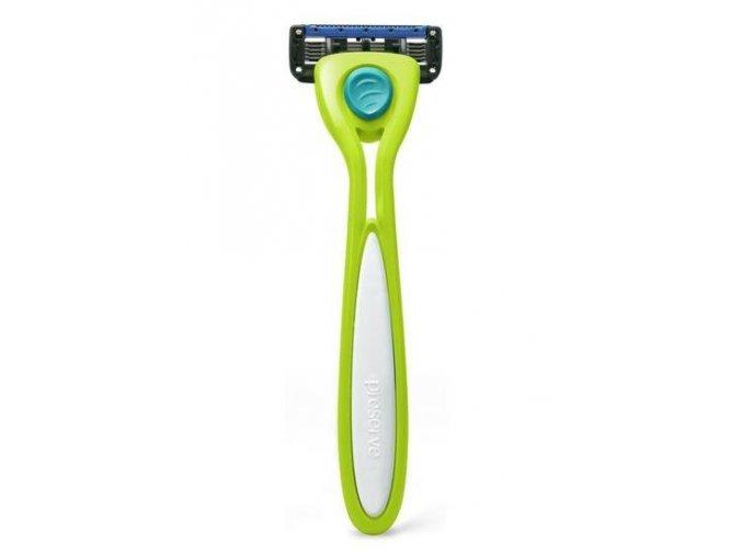 Preserve Holicí strojek Shave 5 (vč. 1 hlavice) - limetkově zelený