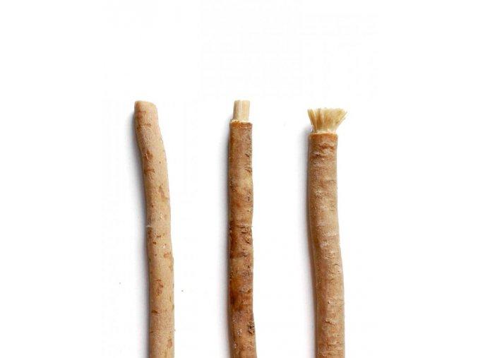 14358 yoni prirodni zubni kartacek miswaak samostatny prirozene cisti posiluje i beli zuby