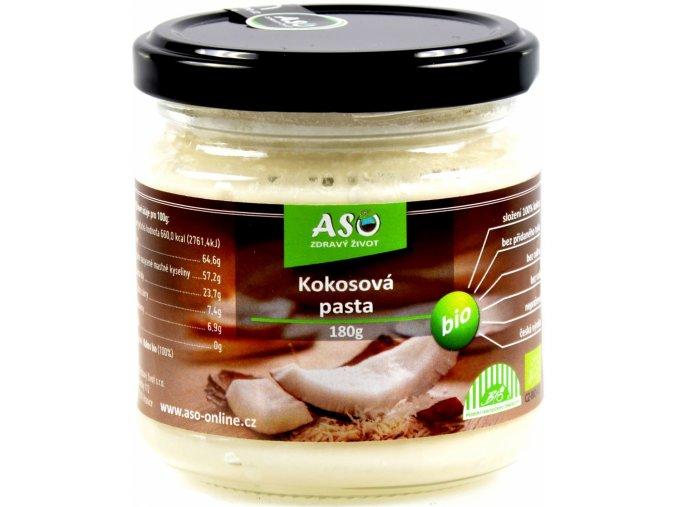 Aso zdravý život kokosová pasta bio 180G