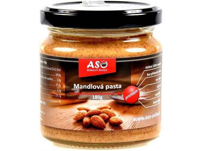 ASO Zdravý život mandlová Pasta 180 g