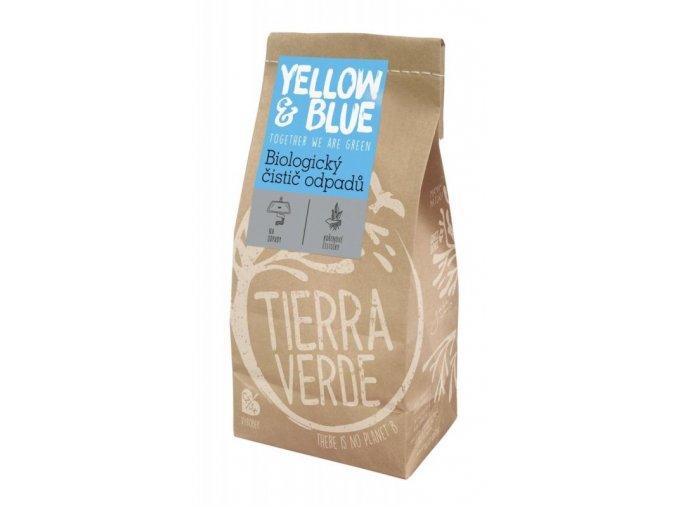 Yellow&Blue Biologický čistič odpadů (500 g) - na bázi mikroorganismů a enzymů