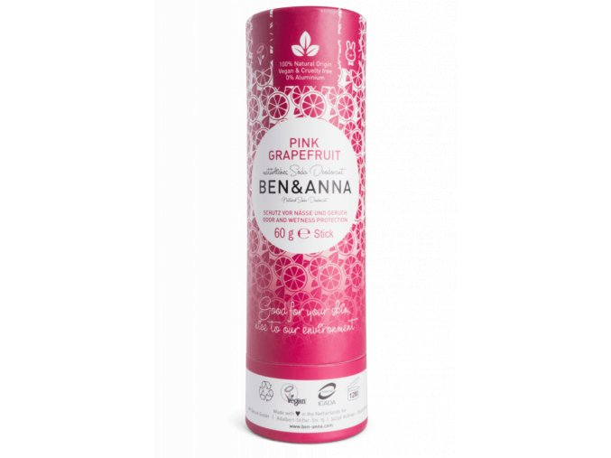 ben anna tuhy deodorant bio 60 g ruzovy grapefruit