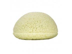 Kongy Konjaková houbička - zelený jíl - ideální pro smíšenou pleť