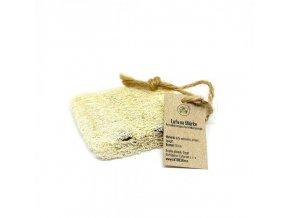 Eatgreen Lufa pro univerzální použití se šnůrkou (1 ks) - 100% přírodní a rozložitelná