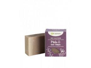 laSaponaria Tuhé olivové mýdlo BIO - Myrta a červené hrozny (100 g)