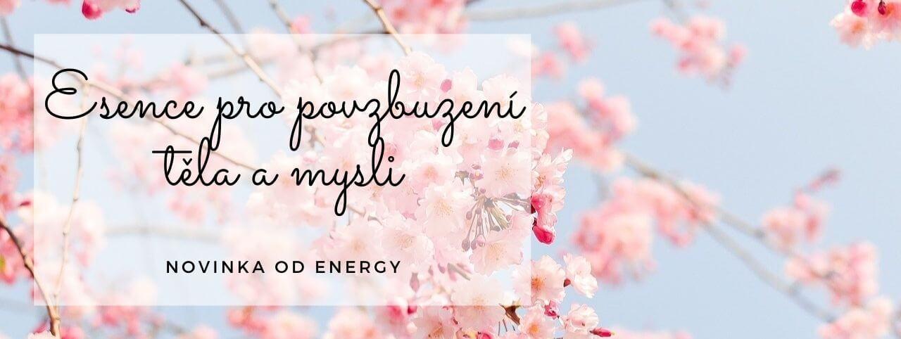 Nové esence od Energy pro povzbuzení těla a mysli