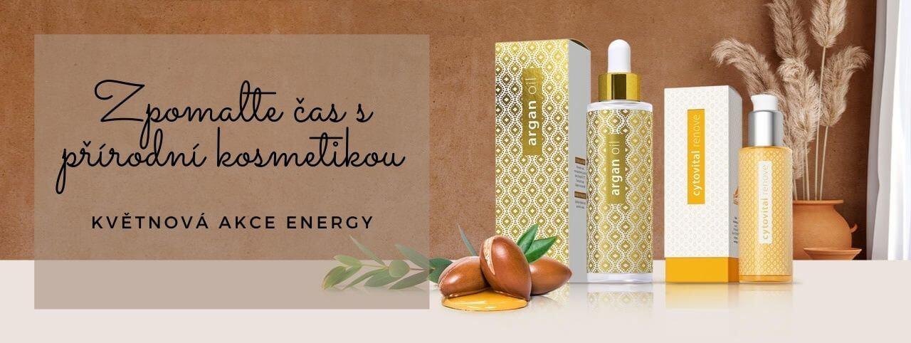 Zpomalte čas s přírodní kosmetikou Energy