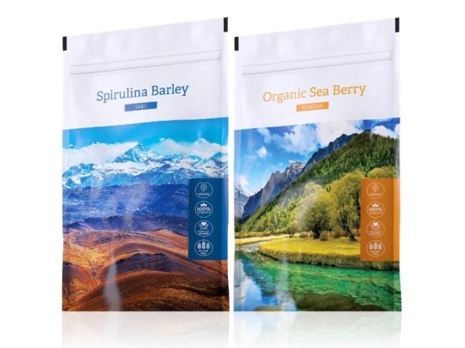 Spirulina Barley a Organic Sea Berry powder od Energy