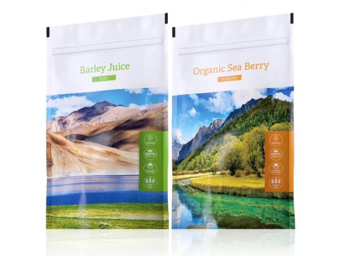 Barley Juice tabs a Organic Sea Berry powder