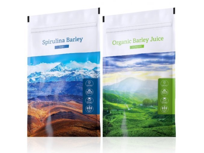 Spirulina Barley a Barley Juice power od Energy