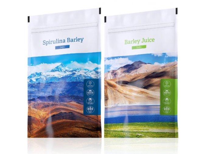 Spirulina Barley a Barley Juice tabs od Energy