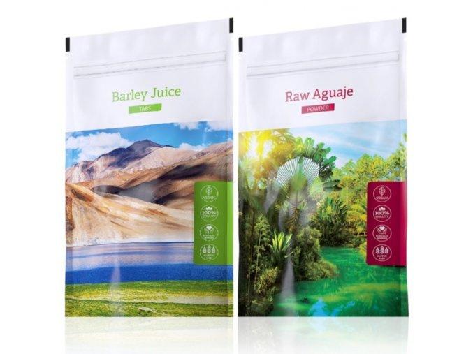 Barley Juice tabs a Raw Aguaje tabs od Energy