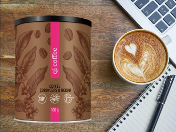 Rozpustná káva QI coffee od Energy