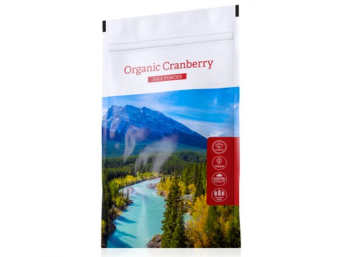 Kanadská brusinka Organic Cranberry Juice powder od Energy