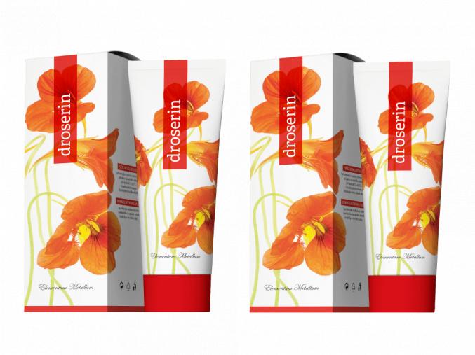 Terapeutický krém Droserin 50 ml 2set od Energy