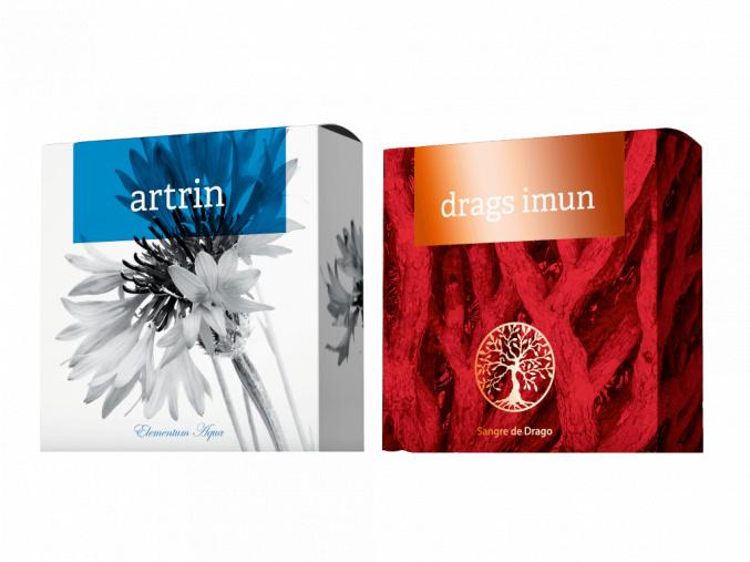 Terapeutická mýdla Drags Imun a Artrin od Energy