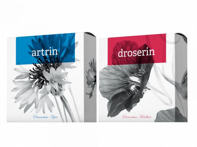 Přírodní mýdla Droserin a Artrin od Energy