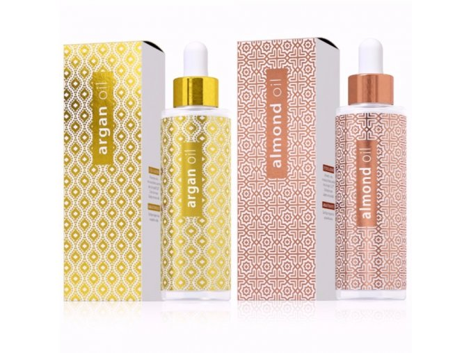 Kosmetické oleje Argan oil a Almond oil od Energy