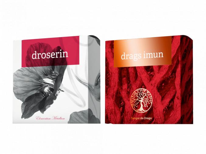 Terapeutická mýdla Droserin a Drags Imun od Energy