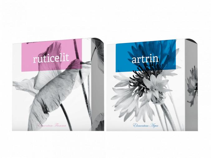 Přírodní mýdla Ruticelit a Artrin od Energy