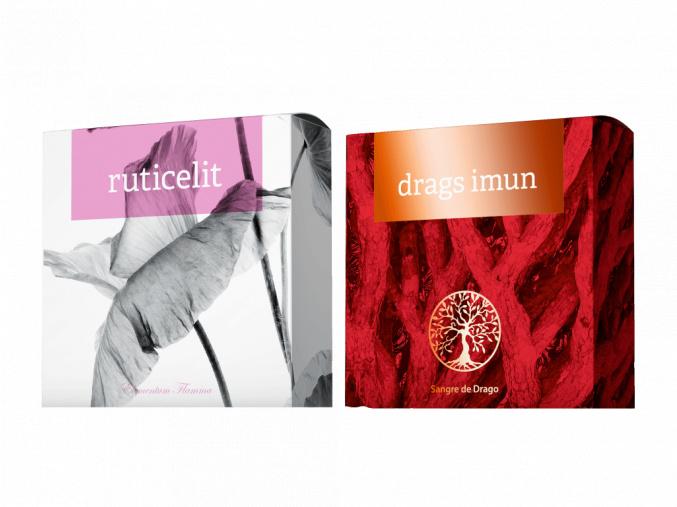 Terapeutická mýdla Drags Imun a Ruticelit od Energy