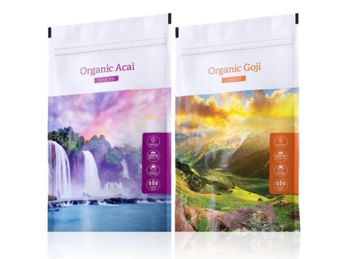 Organic Acai powder a Organic Goji powder od Energy