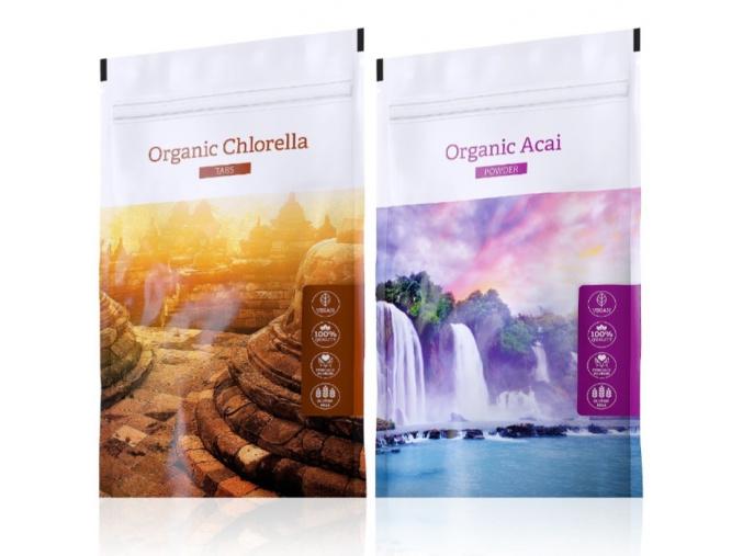 Organic Chlorella tabs a Acai od Energy