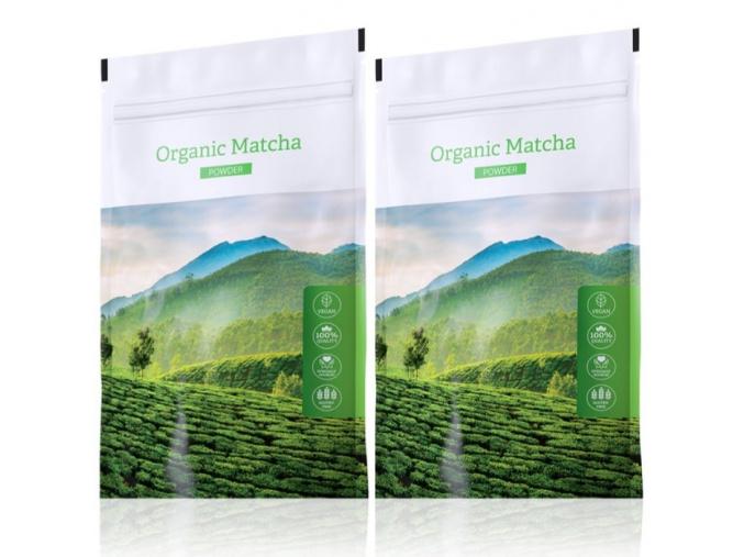 Zelený čaj Organic Matcha powder 2set od Energy