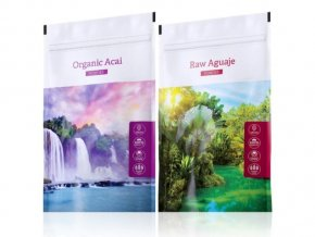 Organic Acai powder a Raw Aguaje tabs od Energy
