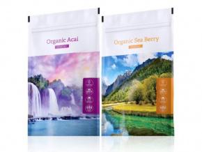 Organic Acai powder a Organic Sea Berry powder od Energy