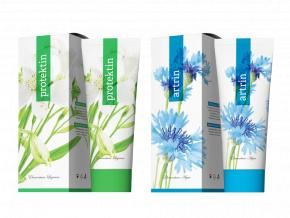 Terapeutické krémy Protektin a Artrin 250 ml od Energy