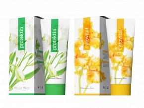 Terapeutické krémy Protektin a Cytovital 250 ml od Energy