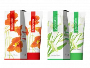 Terapeutické krémy Protektin a Droserin 250 ml od Energy