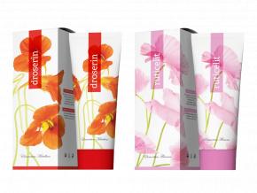 Terapeutické krémy Ruticelit a Droserin 250 ml od Energy
