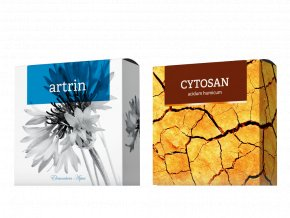 Terapeutická mýdla Artrin a Cytosan od Energy