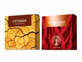 Terapeutická mýdla Drags Imun a Cytosan od Energy
