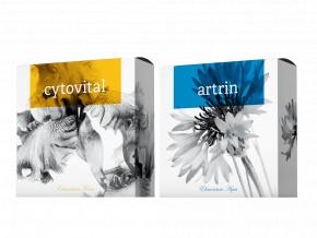 Přírodní mýdla Artrin a Cytovital od Energy