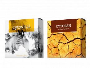 Terapeutická mýdla Cytovital a Cytosan od Energy