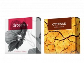 Terapeutická mýdla Droserin a Cytosan od Energy