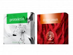 Terapeutické mýdlo Protektin a Drags Imun od Energy